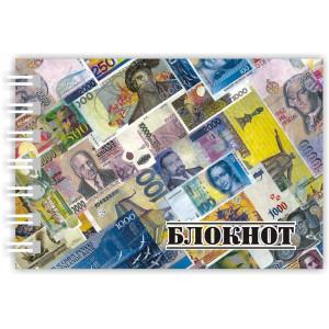 """Блокнот """"Вокруг света"""" /МИКС/"""