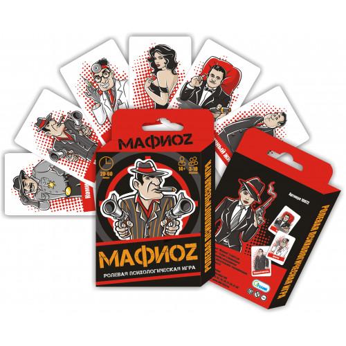 """Карточная ролевая психологическая игра """"МафиоZ"""""""