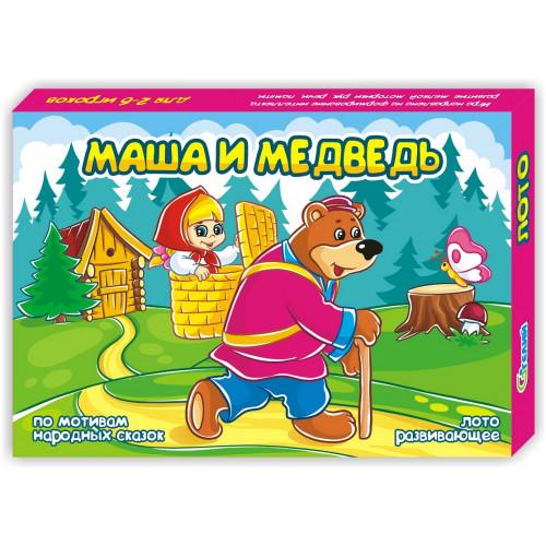 "Лото ""Маша и Медведь"""