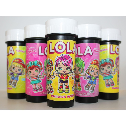 """Мыльные пузыри """"Кукла LOLA"""""""